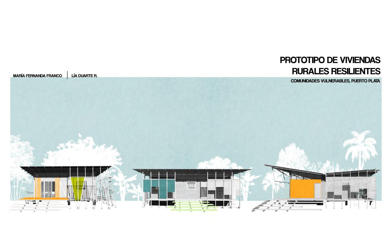 Prototipo de viviendas rurales resilientes by Lía Duarte - issuu
