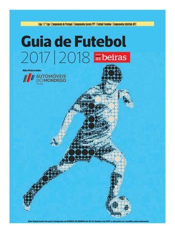 Guia de Futebol 2017 18 by DIÁRIO AS BEIRAS - issuu 0f41ba8a500b9