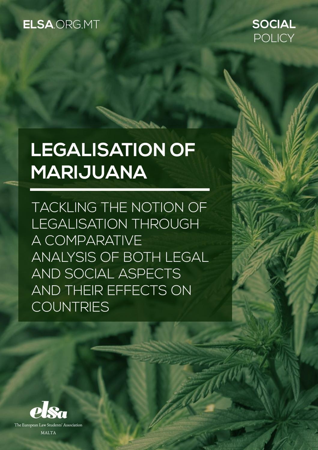 an analysis of legalization of marijuana Though marijuana has been covered in media going back to high times' launch in 1974, the growing trend of statewide legalization and decriminalization of the plant have opened up increasingly.