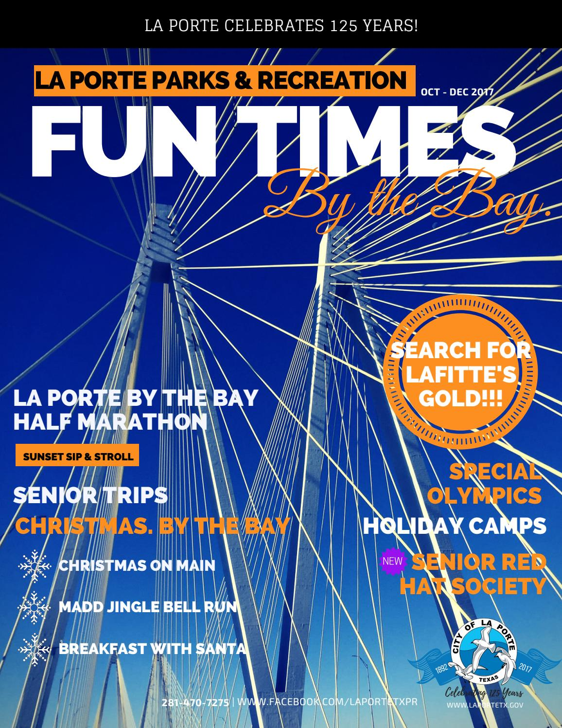 Fun times by the bay la porte program guide by city of for City of laporte employment