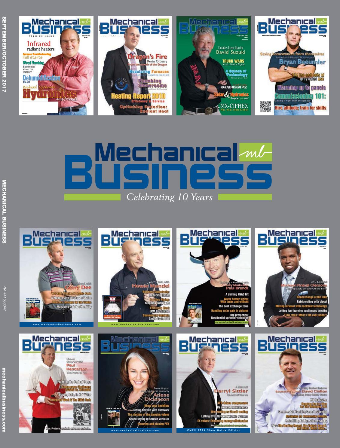 Mechanical Business September/October 2017 by Mechanical Business ...