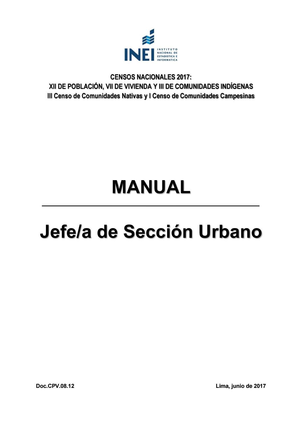 Manual jefe seccion urbano by MARISOL GOMEZ - issuu