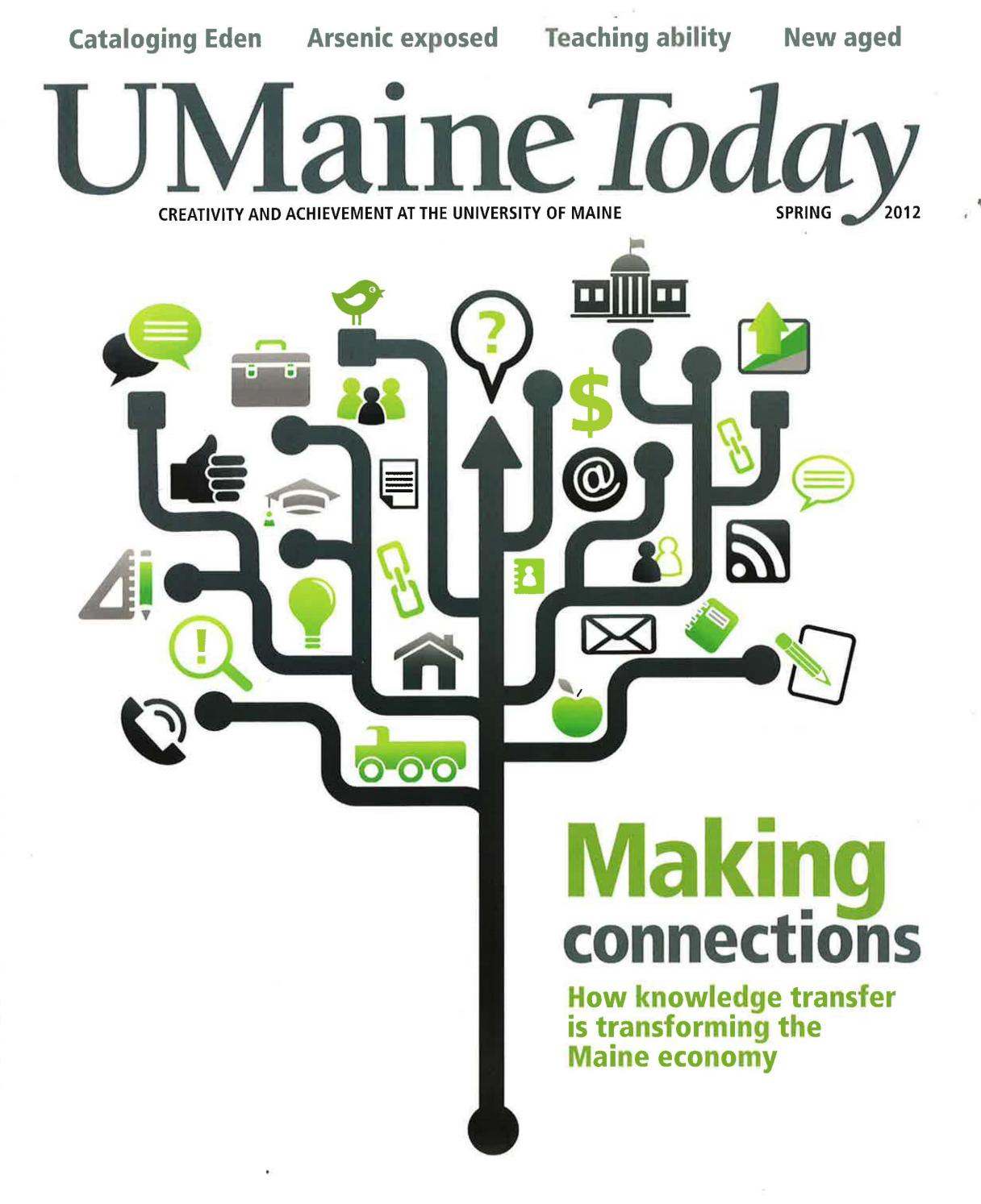 Umaine today spring 2012 by university of maine issuu geenschuldenfo Choice Image
