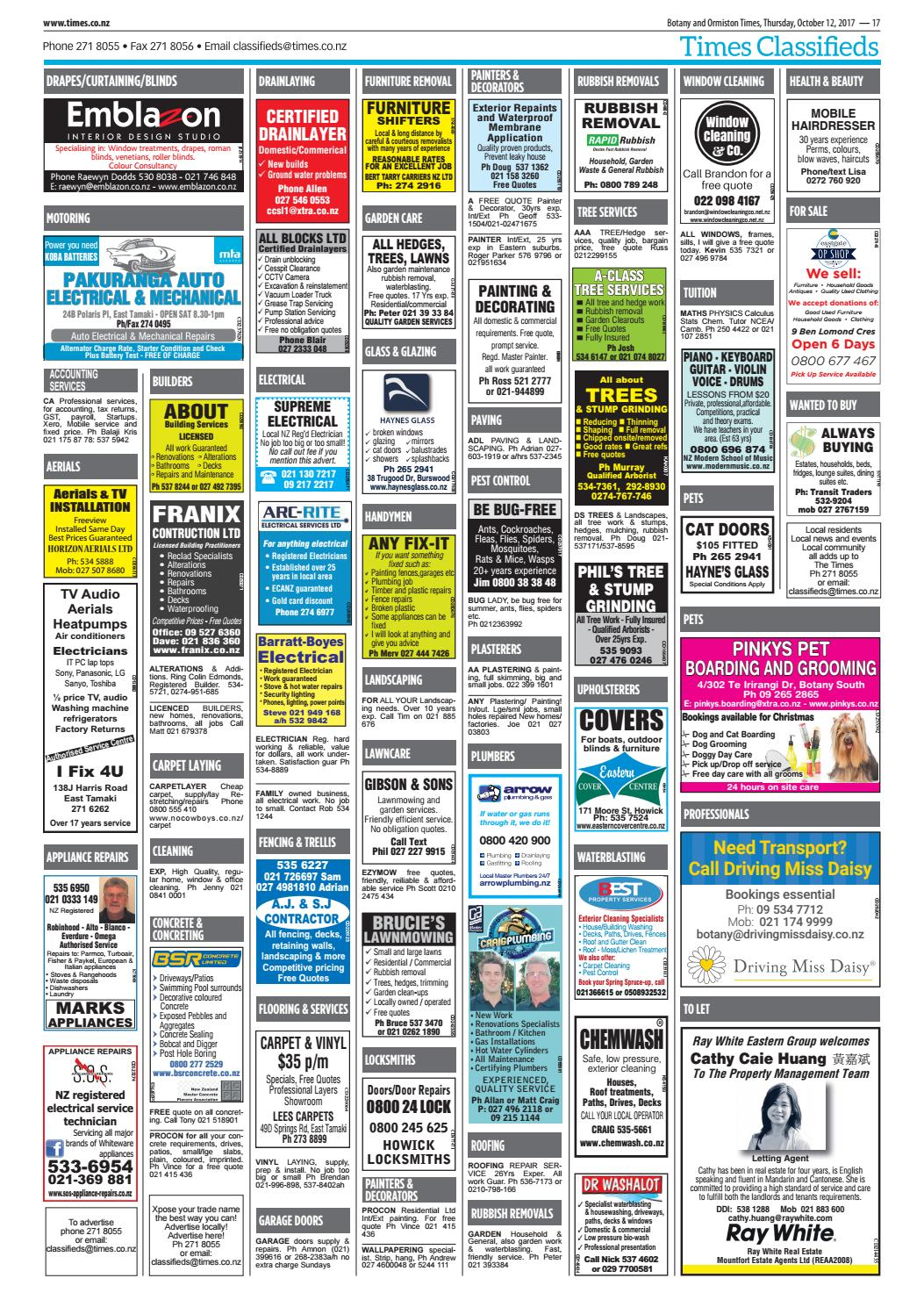 Botany And Ormiston Times 12 October 2017 By Times Media