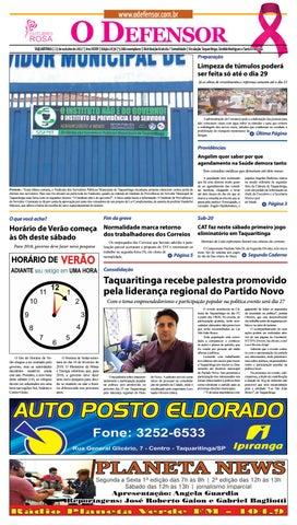 jornal o defensor 13 de outubro de 2017 by gabriel baglioti issuu