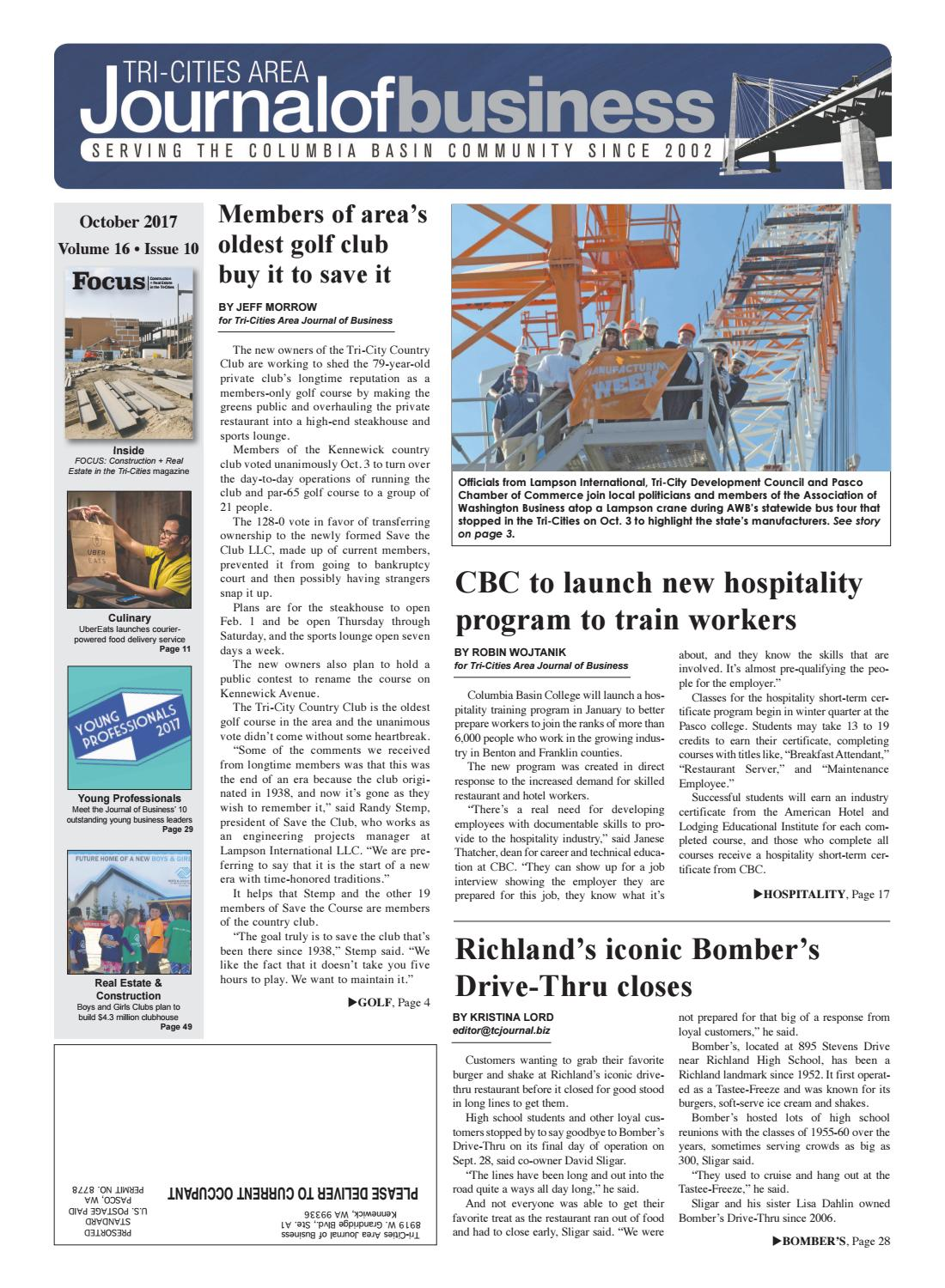 Tri-Cities Area Journal of Business -- October 2017 by Tri-Cities ... d7940368e97
