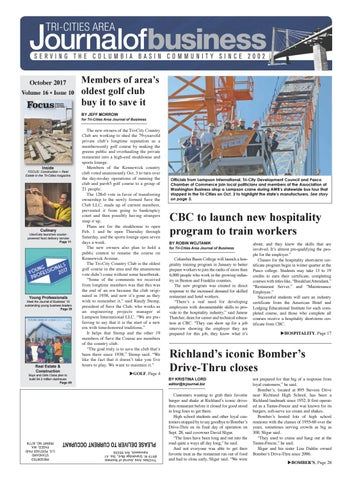 Tri Cities Area Journal Of Business October 2017