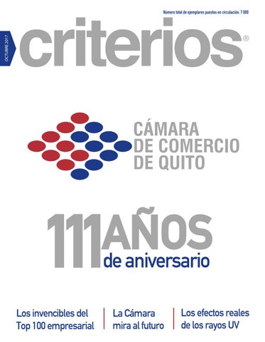 Criterios Octubre 2017 by Revista Criterios - issuu