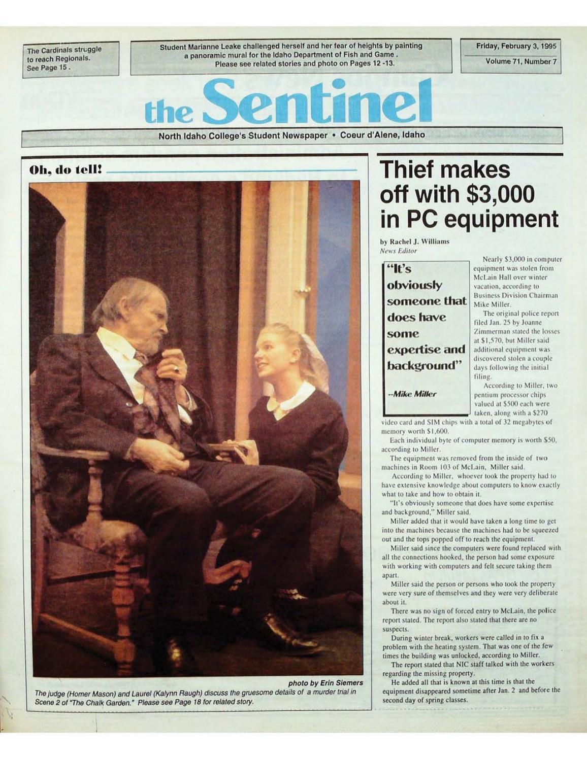 friday february 3 1995