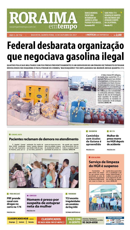 2faa84ccc Jornal roraima em tempo – edição 754 by RoraimaEmTempo - issuu
