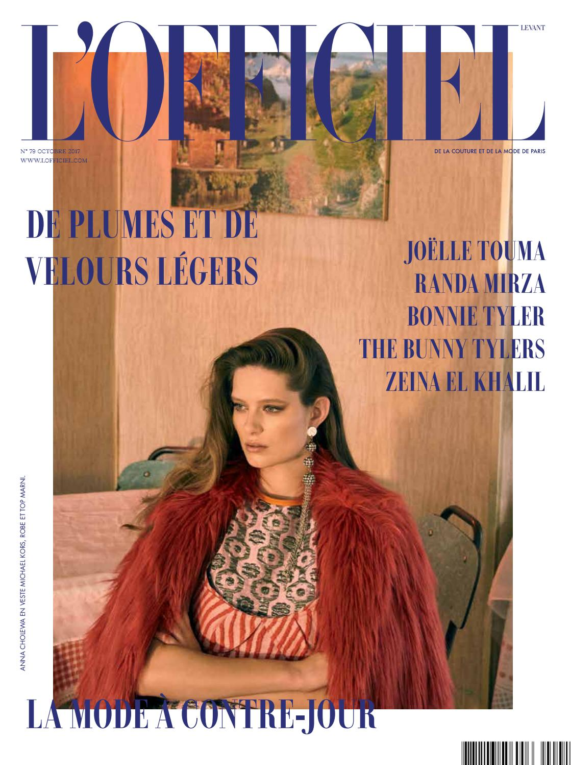74e17628b0bfa6 L Officiel-Levant, October Issue 79 by L Officiel Levant - issuu