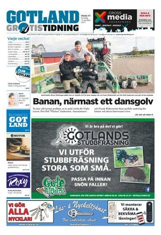 Gotland Gratistidning by Svenska Civildatalogerna AB - issuu 6c2ee989f2ae6