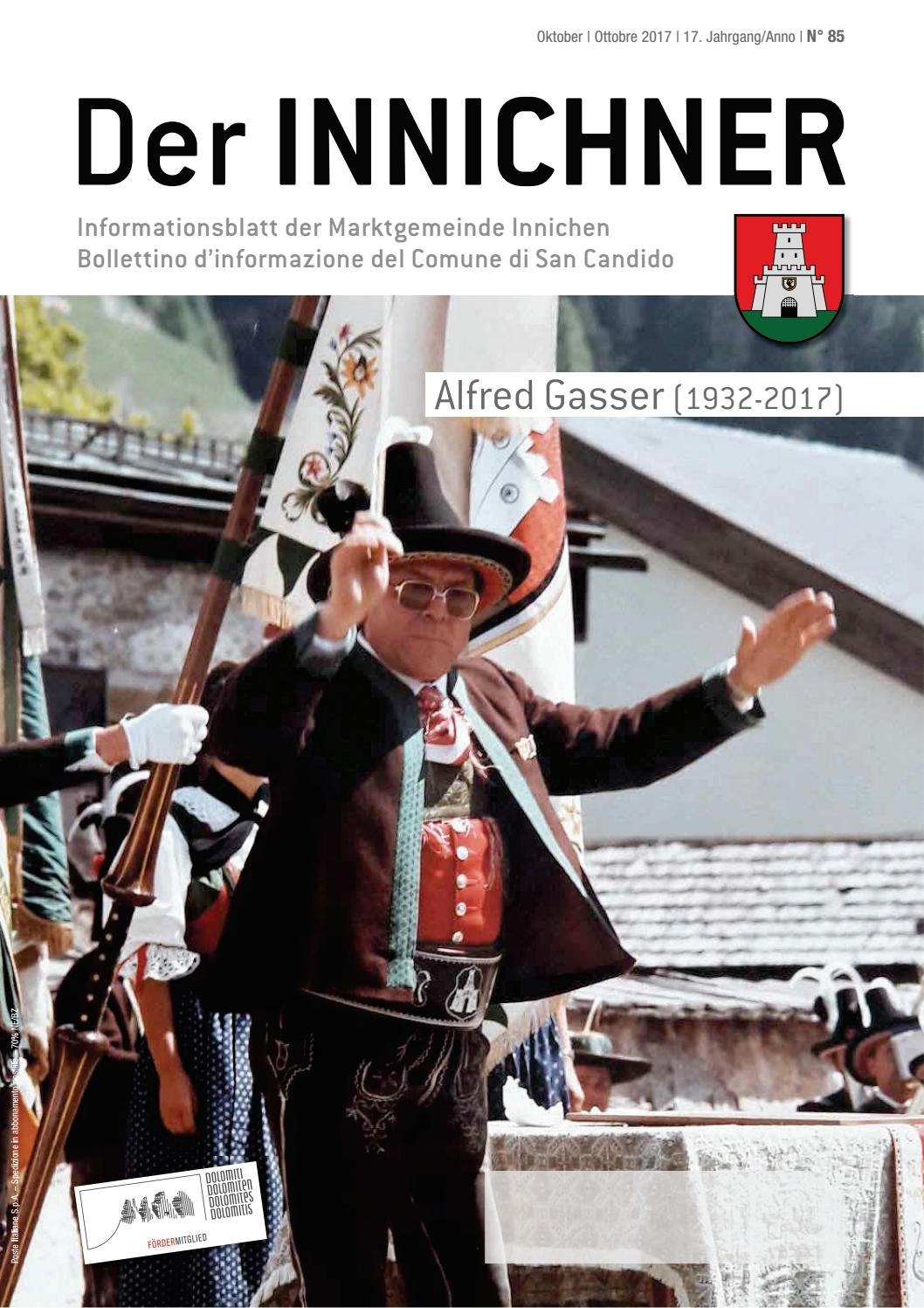 Nr N 85 2017 Der Innichner By Gemeinde Innichen Issuu