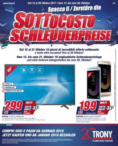 Trony Porta Tv.Volantino Trony Sottocosto 12 10 26 10 By Leonardelli