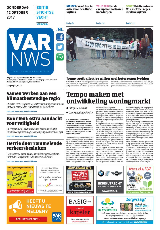 66c9a3280223a2 VARnws Stichtse Vecht 12 oktober 2017 by VARnws - issuu