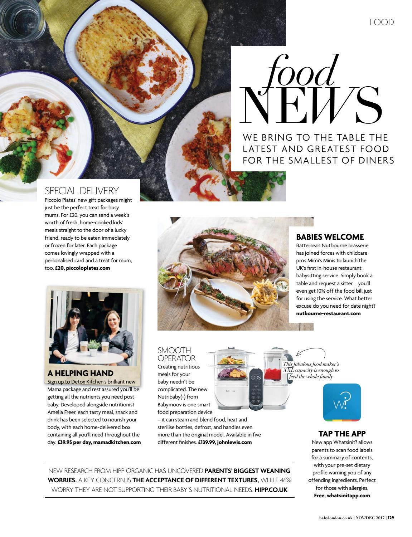 Baby London November/December 2017 by The Chelsea Magazine Company
