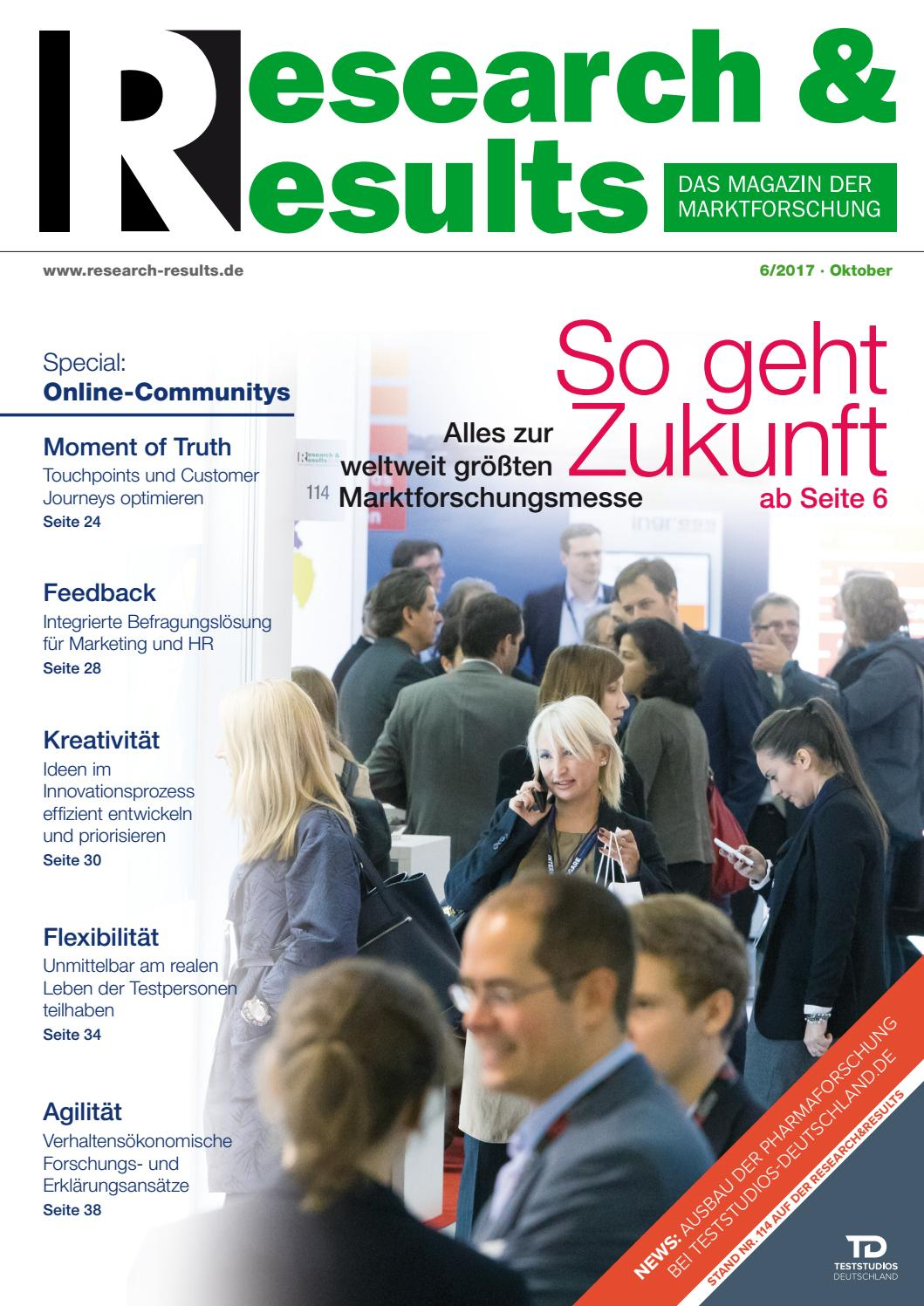 Research & Results 6/2017 by Research & Results - issuu