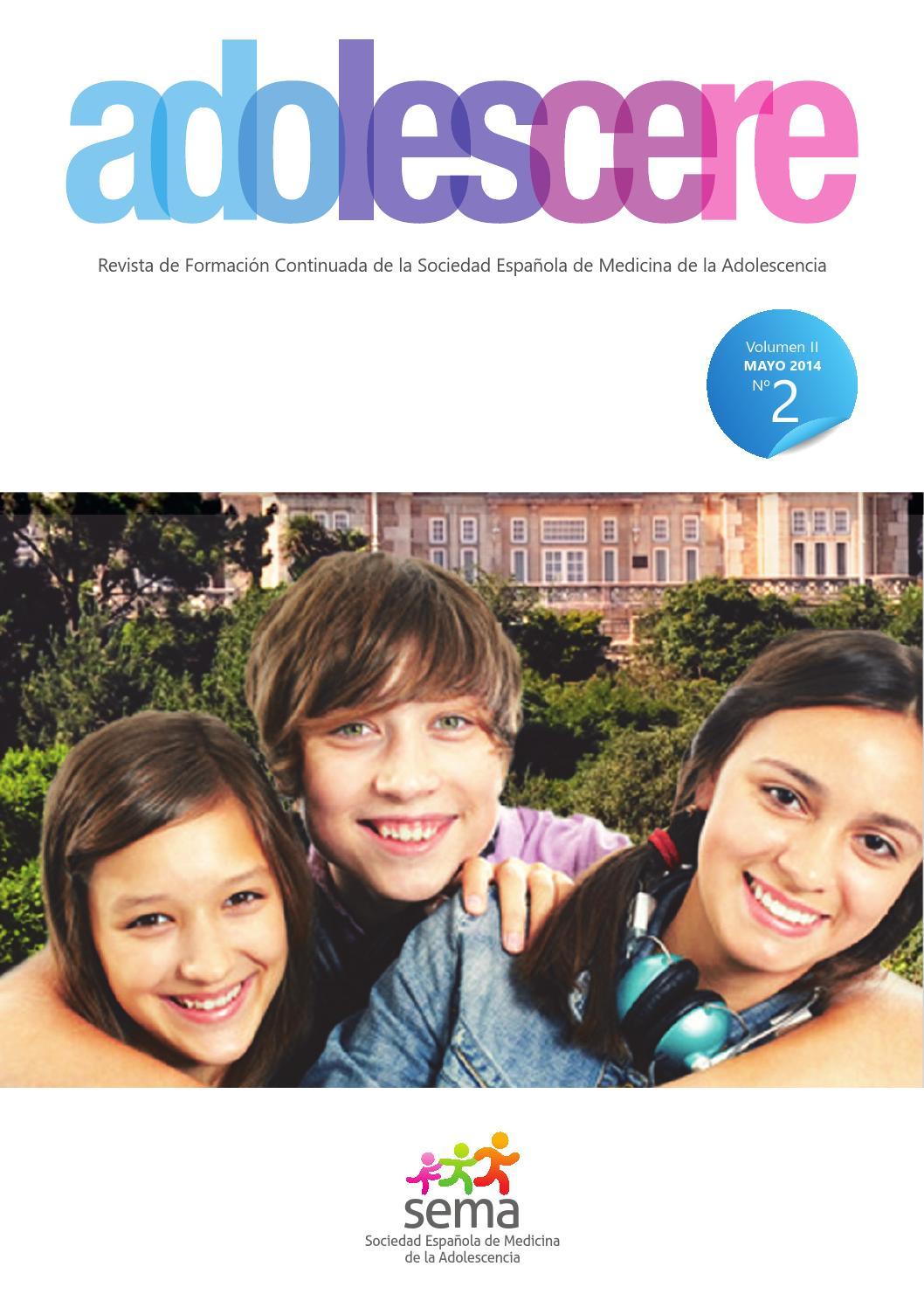 Revista Adolescere Volumen 2 Numero 2 Mayo 2014 by SEMA Adolescencia ...