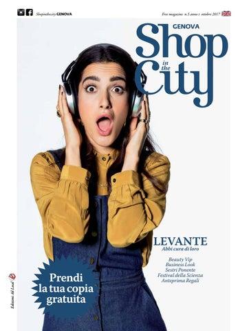 Shopinthecity ottobre 2017 genova by ShopintheCity - issuu 5ea370a266a