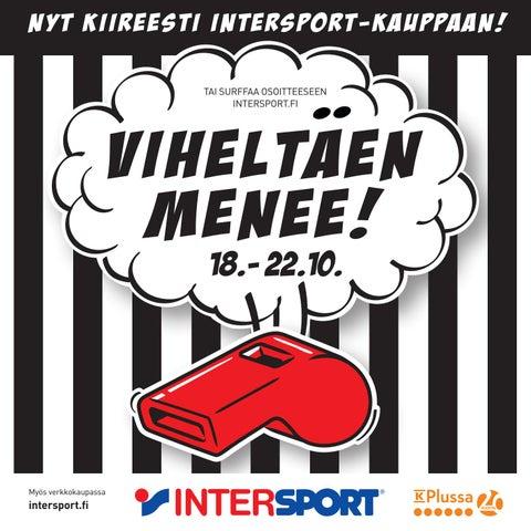 nyt kiireesti intersport-kauppaan! TAI SURFFAA OSOITTEESEEN INTERSPORT.FI 20155ac5cf