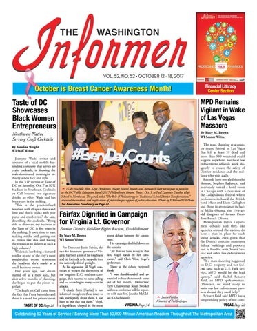 The Washington Informer October 12 2017 By The Washington Informer