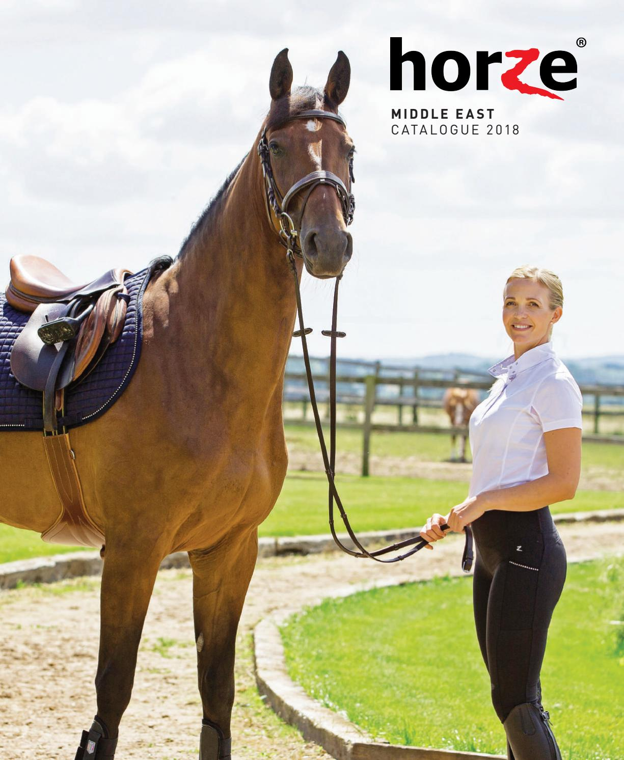 3cc93427e Horze Middle East Catalogue - 2018 by Horze Middle East - issuu
