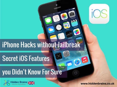 iPhone Hacks without Jailbreak: Secret iOS Features you Didn