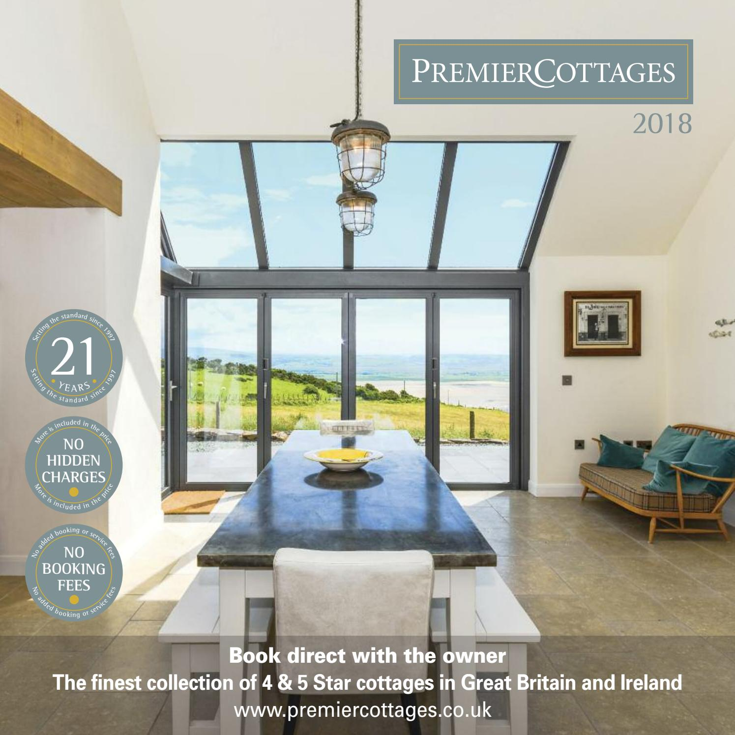 Enjoyable Premier Cottages Brochure 2018 By Web Admin Issuu Download Free Architecture Designs Scobabritishbridgeorg