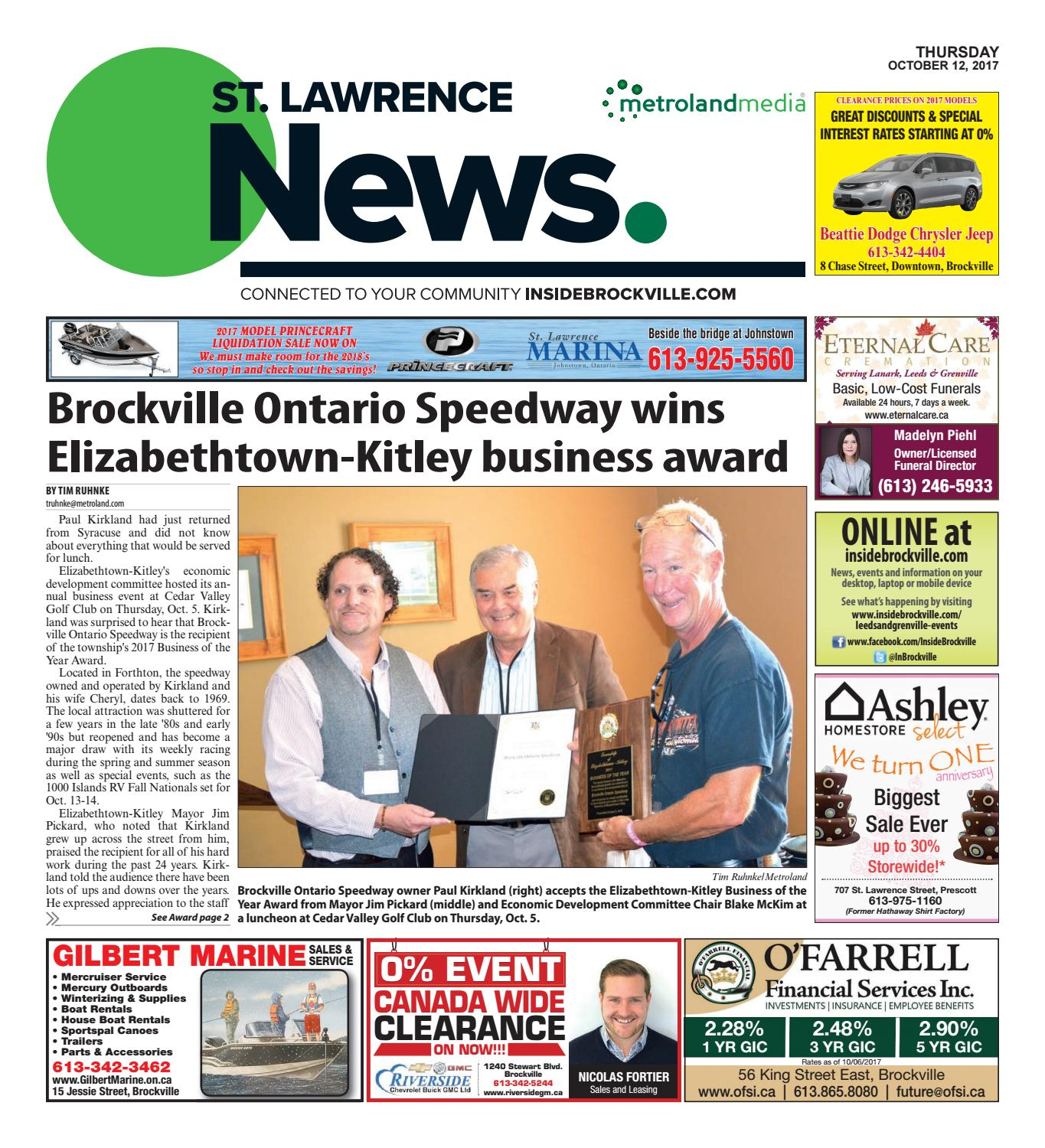 0d73de647747 Stlawrence101217 by Metroland East - St. Lawrence News - issuu