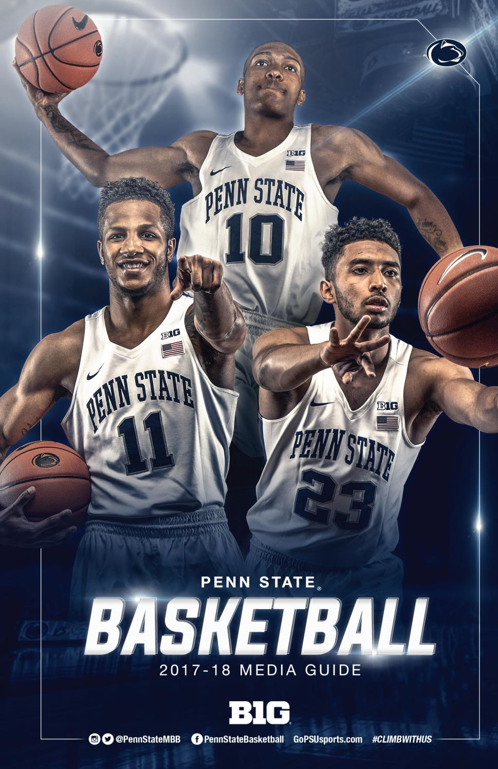 2017 18 Penn State Men S Basketball Media Guide By Penn