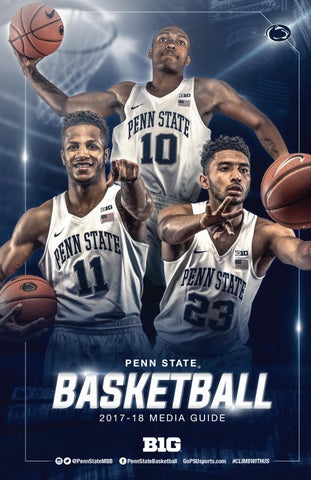 d4ad0eb89d9 2017-18 Penn State Men s Basketball Media Guide by Penn State ...