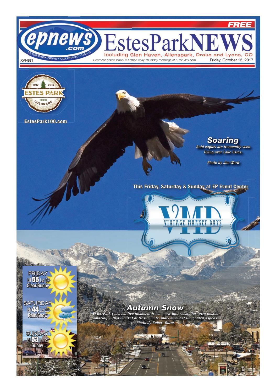 Estes Park News, October 13, 2017 by Estes Park News, Inc