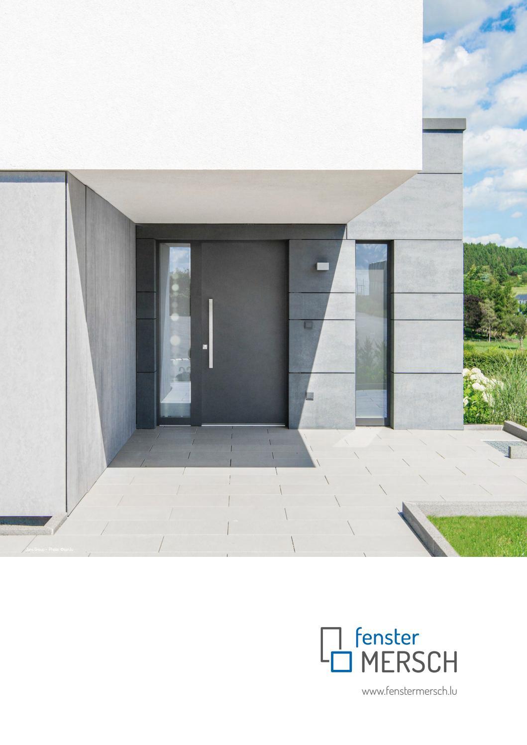 Fenster Mersch Katalog by SAN s.àr.l. - issuu