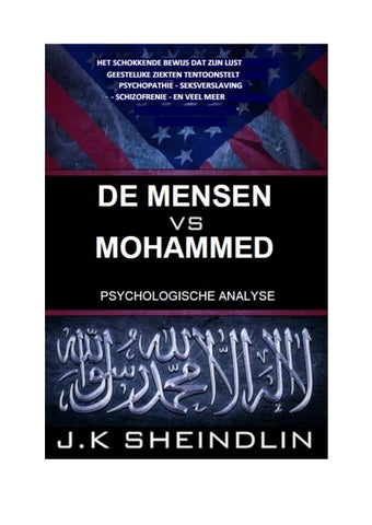 De Mensen Versus Mohammed Psychologische Analyse By Bicky Ghai Issuu
