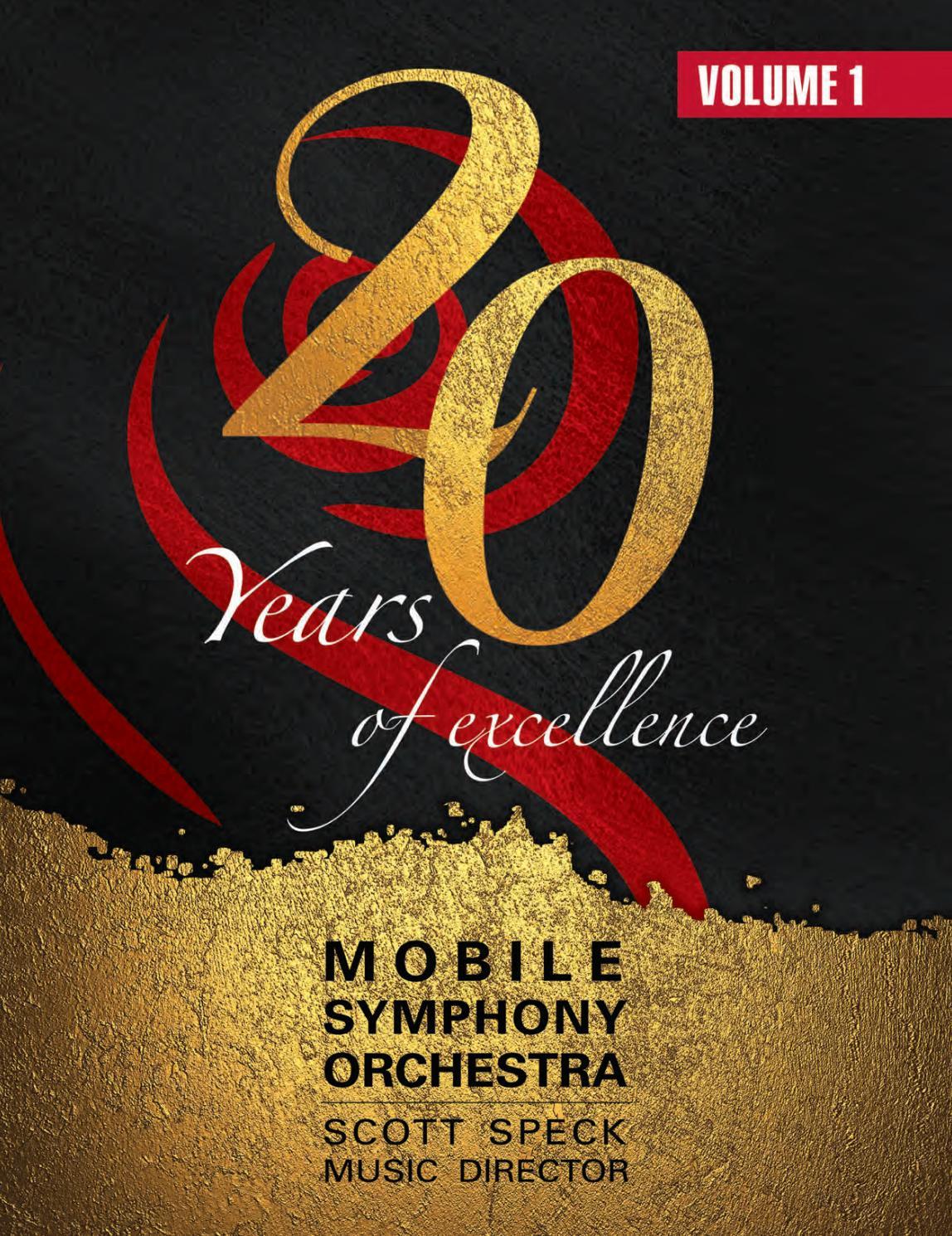 Mobile Symphony Orchestra 2017 Program by Mobile Symphony