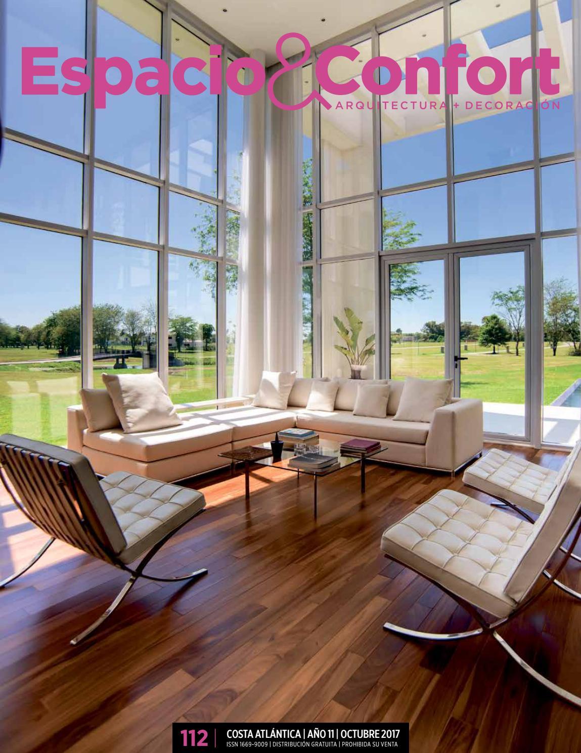 112 Costa Octubre 2017 By Revista Espacio Confort Arquitectura  # Muebles Luberto Mdp