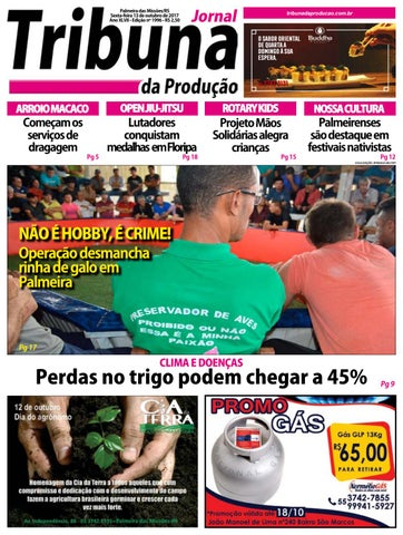 Tribuna da produção 13 10 17 by Tribuna da Produção Palmeira - issuu fc13c9293156c