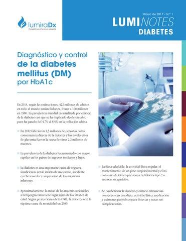 prueba a1c para detección de diabetes