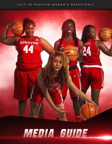 5cbce008a174 2017-18 Houston Women s Basketball Media Guide by University of ...