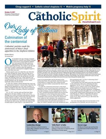 The Catholic Spirit - October 12, 2017 by The Catholic