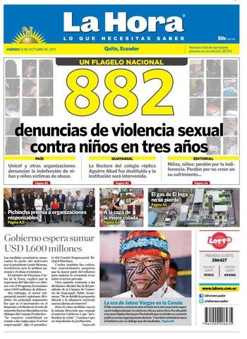 Quito 13 de octubre de 2017 by Diario La Hora Ecuador - issuu e050a7a0f39