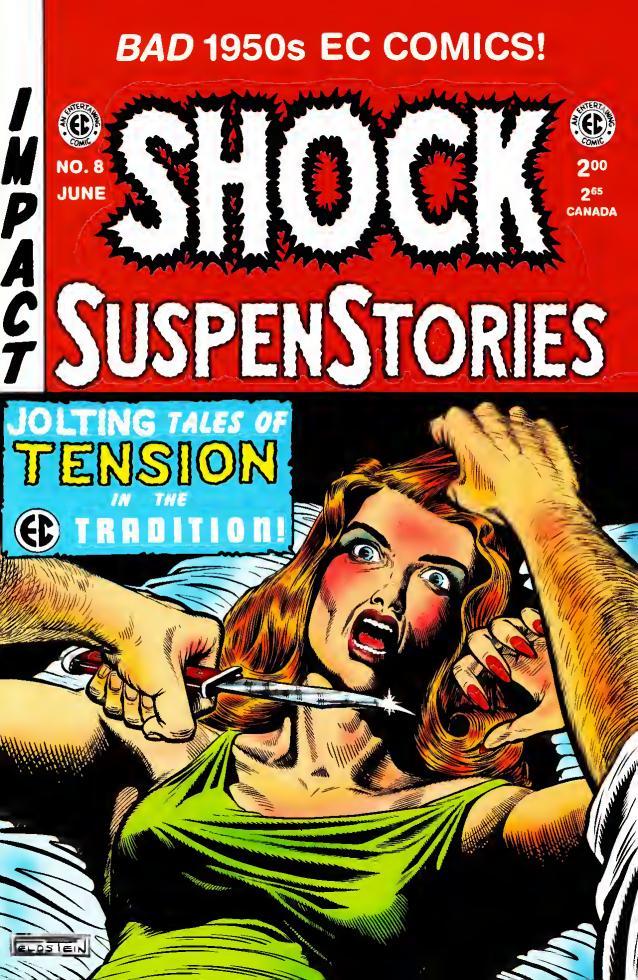 SHOCK SuspenStories #3 EC Annuals