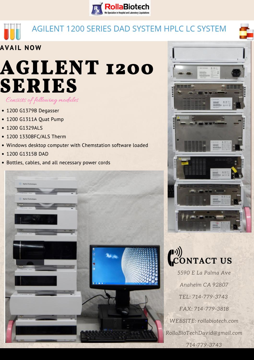 Agilent 1200 series by rolla biotech - issuu