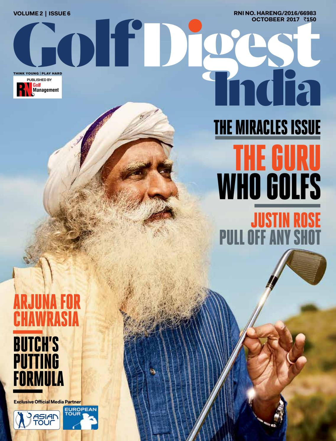 Golf Digest India - October 2017 by Golf Digest India - issuu