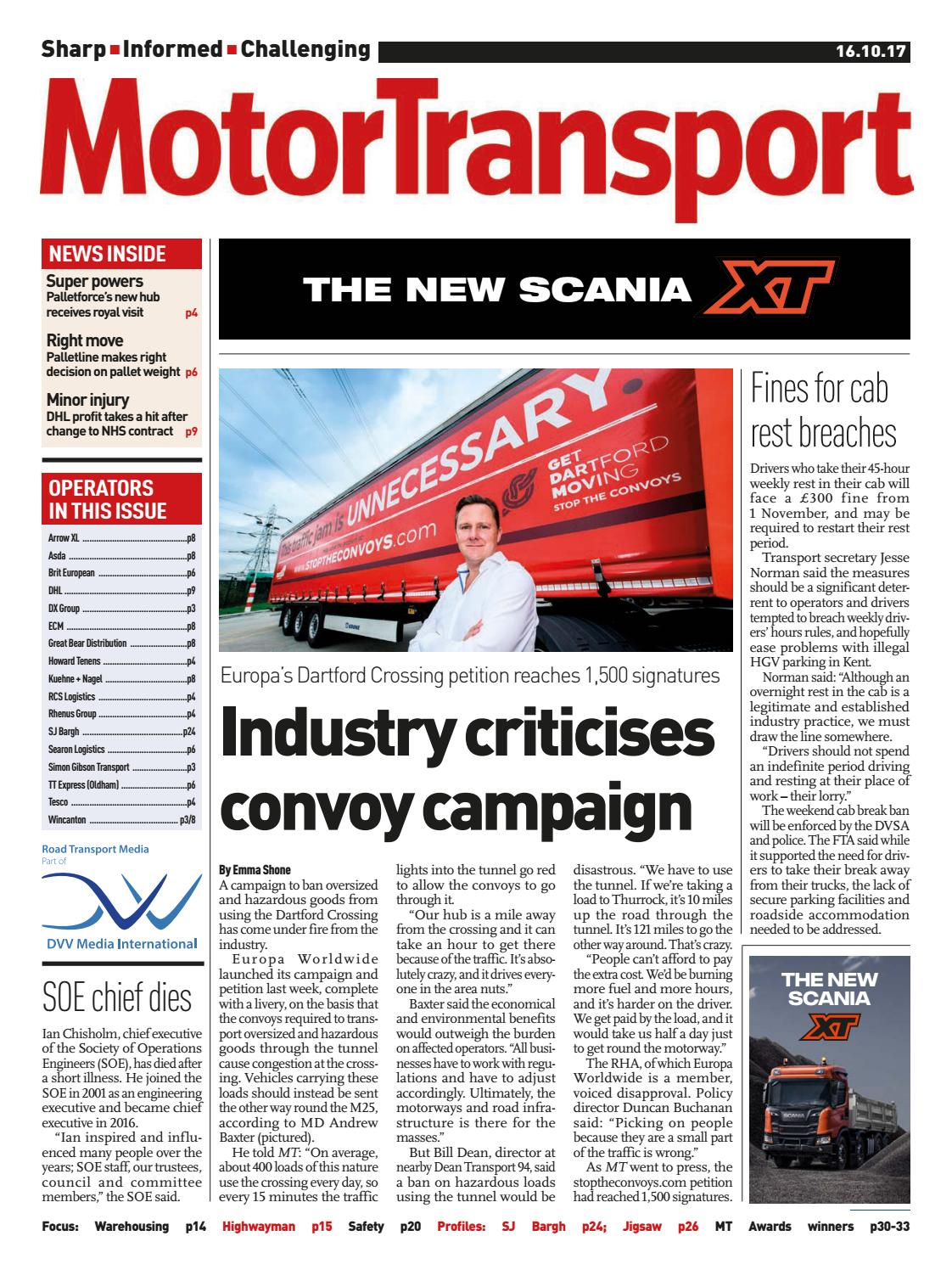 7a6c691292 Motor Transport 16 October 2017 by Motor Transport - issuu
