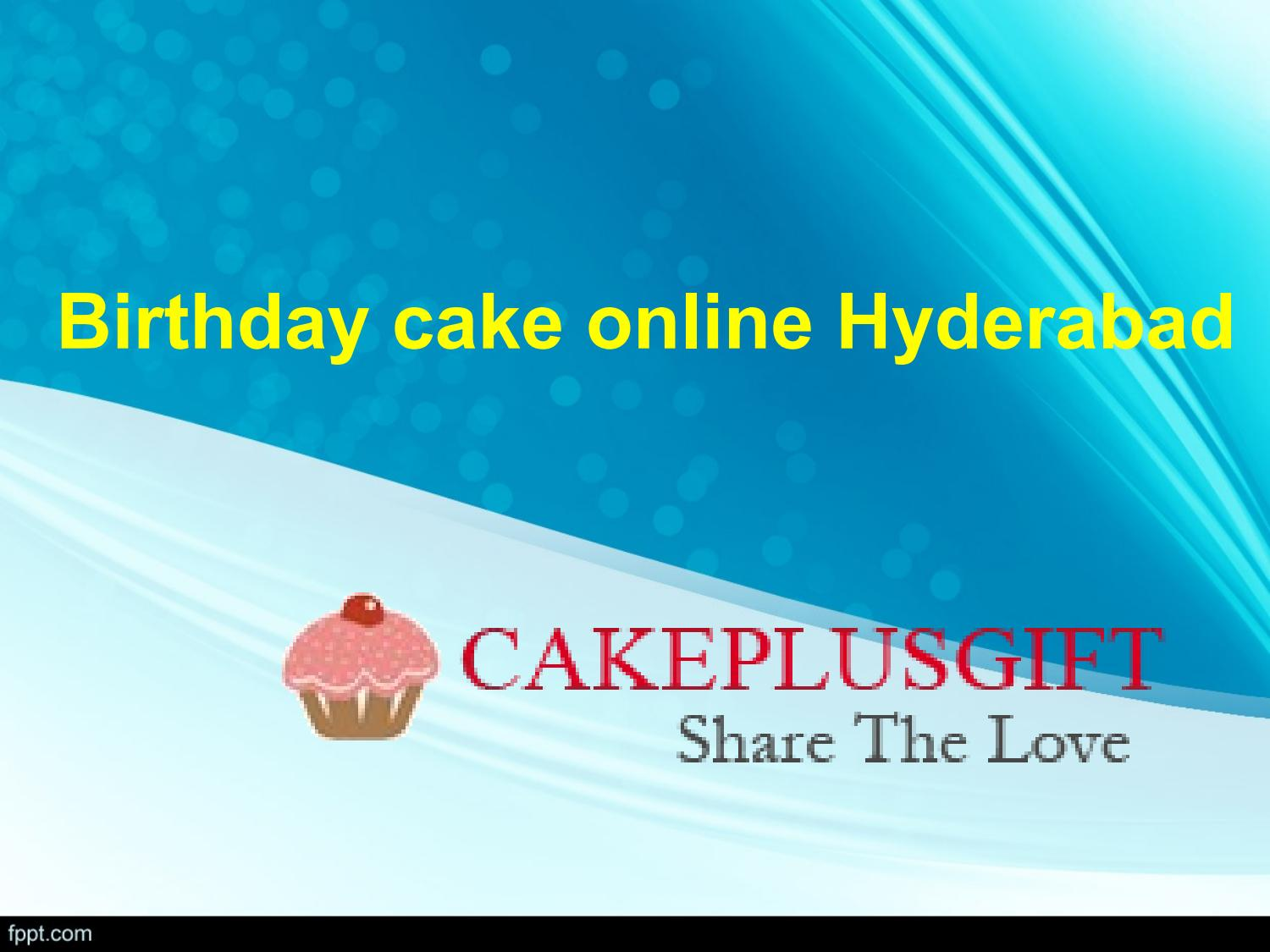 Birthday Cake Online Hyderabad Buy Cakes