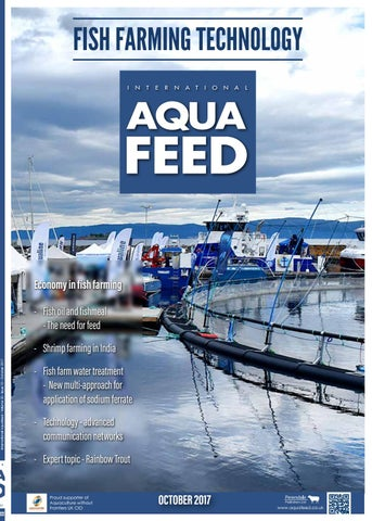 OCT 2017 - International Aquafeed by Perendale Publishers