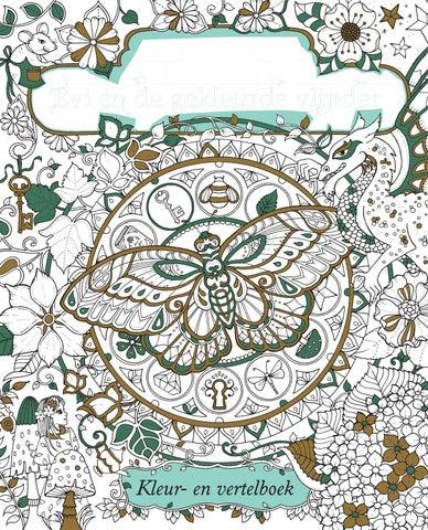 Inkijkexemplaar evi en de gekleurde vlinder johanna basford by veen bosch keuning - Kleur schilderij gang ...