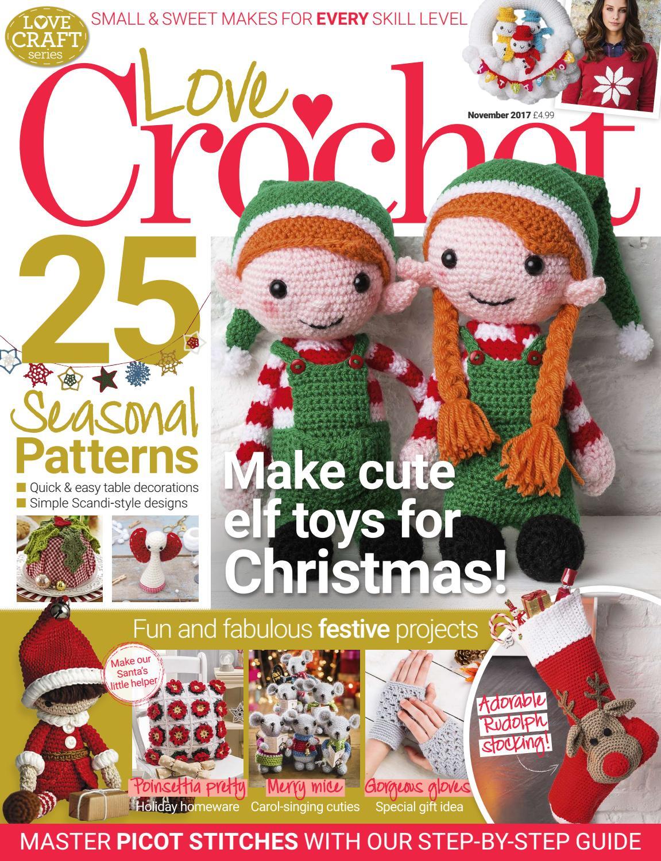 Love Crochet November 2017 sampler by Immediate Media Co magazines