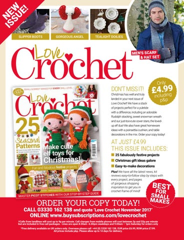 Love Crochet November 2017 Sampler By Immediate Media Co Magazines